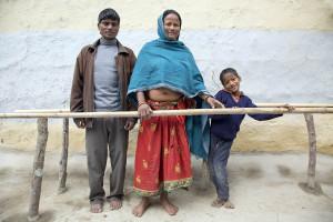 Nepal, Sunsari, 20-01-2014 Karuna Foundation, Sunsari, Nepal Foto: Henk Braam